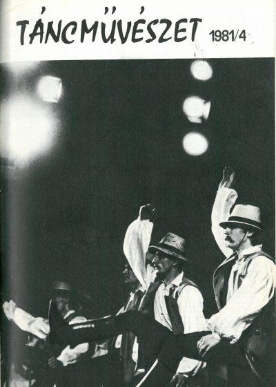 tancmuveszet-1981-4-címlap