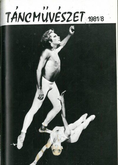 tancmuveszet-1981-8-címlap
