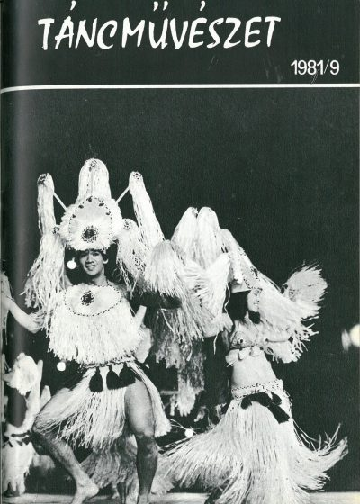 tancmuveszet-1981-9-címlap
