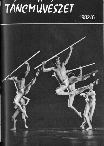 tancmuveszet-1982-6-címlap