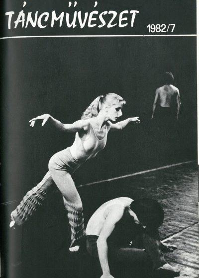 tancmuveszet-1982-7-címlap