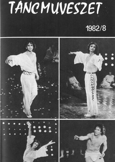 tancmuveszet-1982-8-címlap