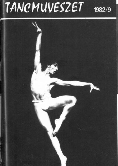 tancmuveszet-1982-9-címlap
