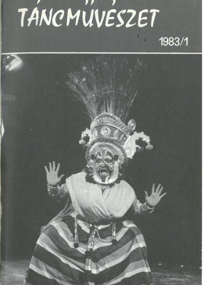 tancmuveszet-1983-1-címlap