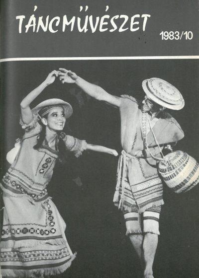 tancmuveszet-1983-10-címlap