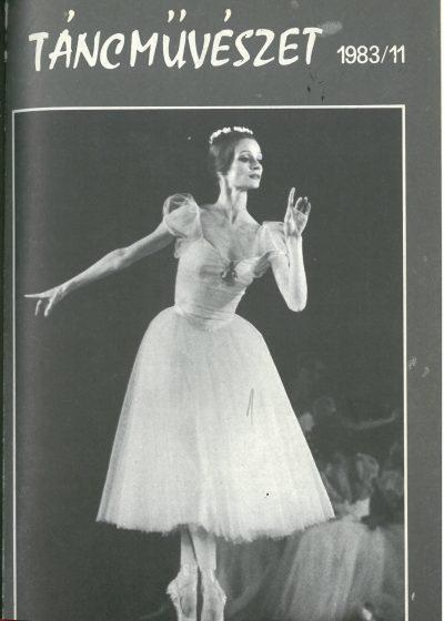 tancmuveszet-1983-11-címlap