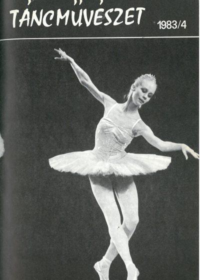 tancmuveszet-1983-4-címlap