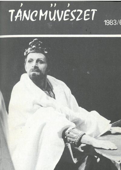 tancmuveszet-1983-6-címlap
