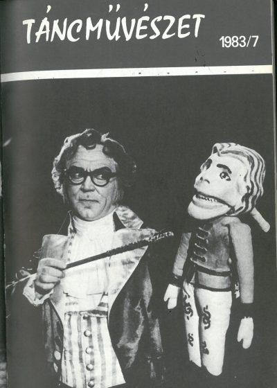 tancmuveszet-1983-7-címlap