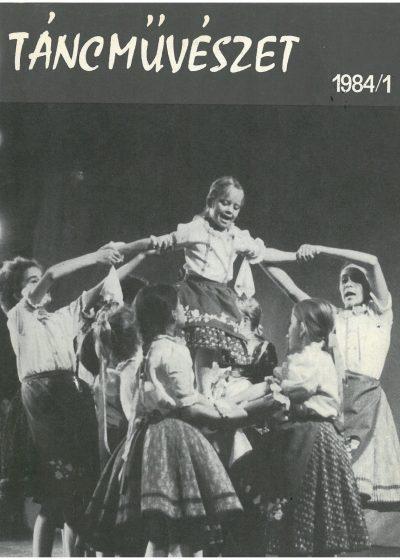 tancmuveszet-1984-1-címlap