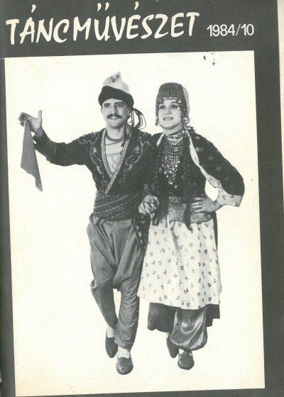 tancmuveszet-1984-10-címlap