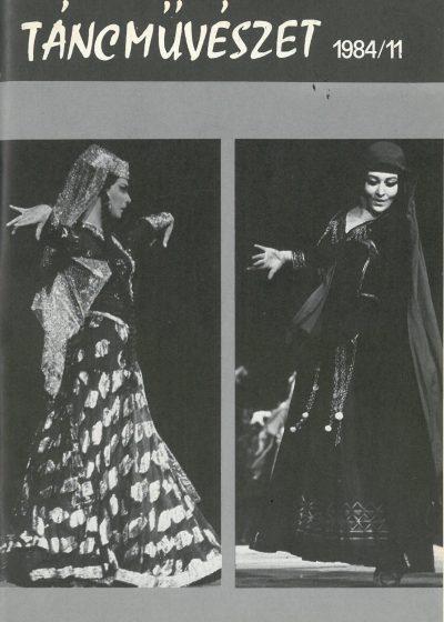 tancmuveszet-1984-11-címlap