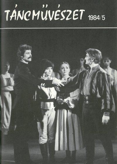tancmuveszet-1984-5-címlap