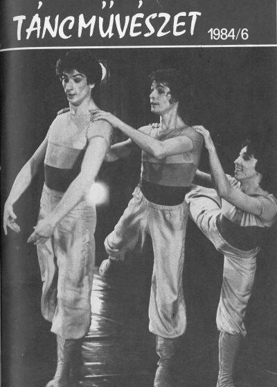 tancmuveszet-1984-6-címlap