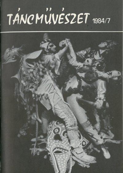 tancmuveszet-1984-7-címlap