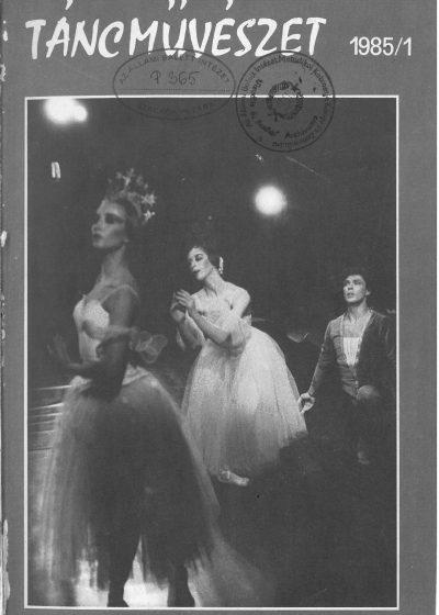 tancmuveszet-1985-1-címlap