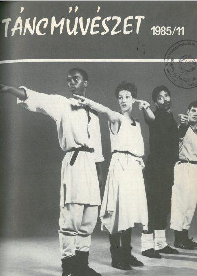 tancmuveszet-1985-11-címlap