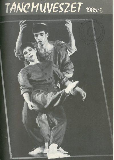 tancmuveszet-1985-6-címlap