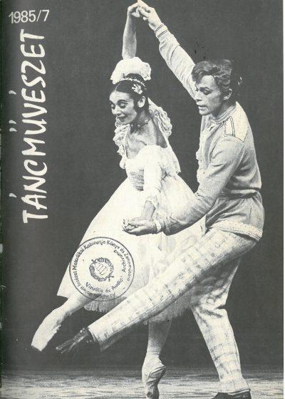 tancmuveszet-1985-7-címlap