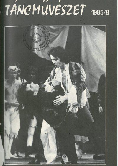 tancmuveszet-1985-8-címlap