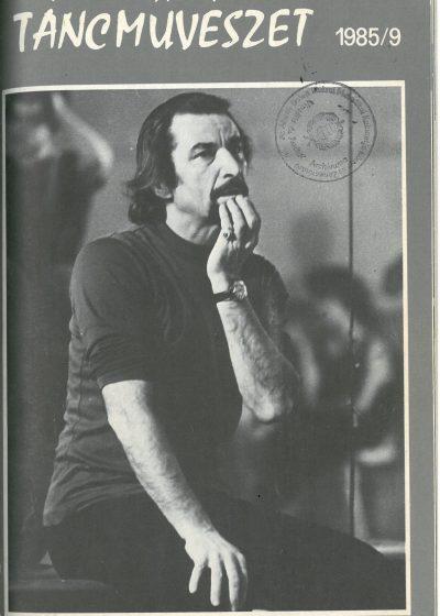 tancmuveszet-1985-9-címlap