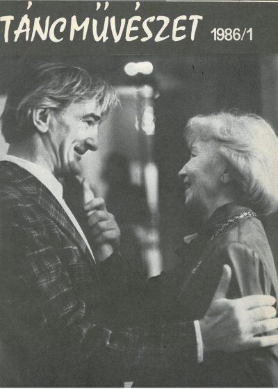 tancmuveszet-1986-1-címlap