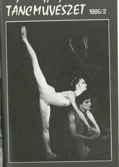 tancmuveszet-1986-2-címlap