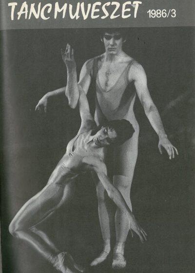 tancmuveszet-1986-3-címlap
