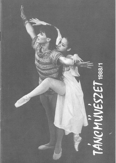 tancmuveszet-1988-1-címlap