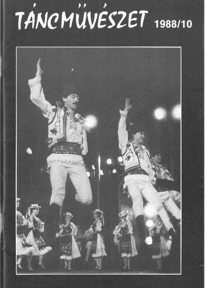 tancmuveszet-1988-10-címlap