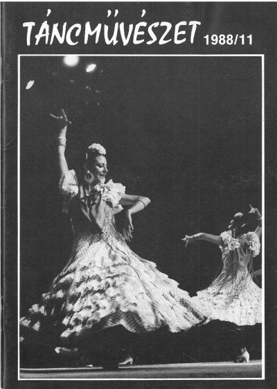 tancmuveszet-1988-11-címlap