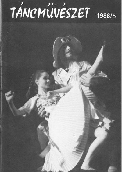 tancmuveszet-1988-5-címlap