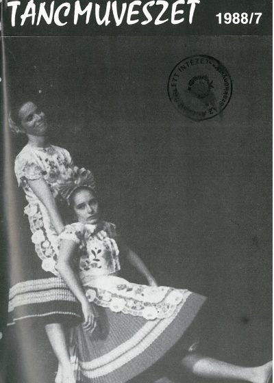 tancmuveszet-1988-7-címlap