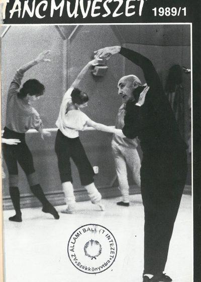 tancmuveszet-1989-1-címlap