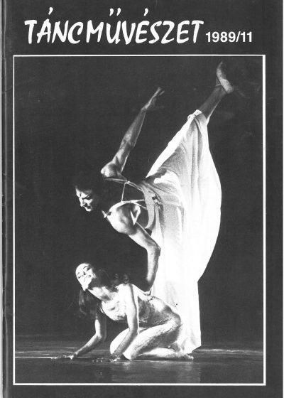 tancmuveszet-1989-11-címlap
