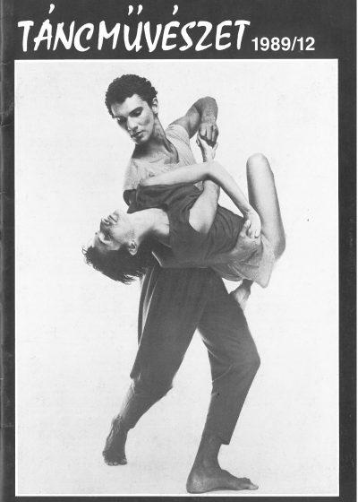 tancmuveszet-1989-12-címlap