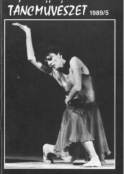 tancmuveszet-1989-5-címlap