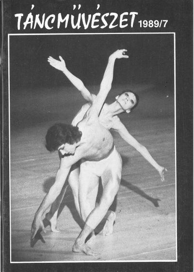 tancmuveszet-1989-7-címlap