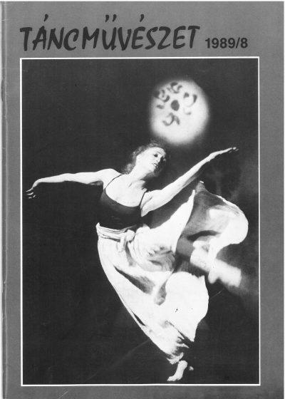 tancmuveszet-1989-8-címlap