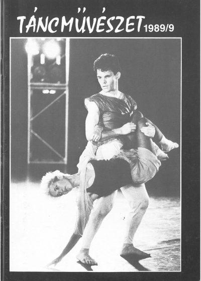 tancmuveszet-1989-9-címlap