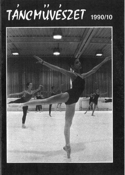 tancmuveszet-1990-10-címlap