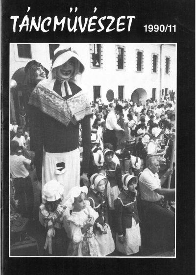 tancmuveszet-1990-11-címlap