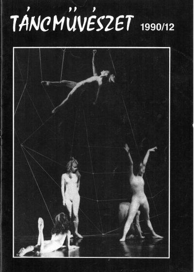 tancmuveszet-1990-12-címlap