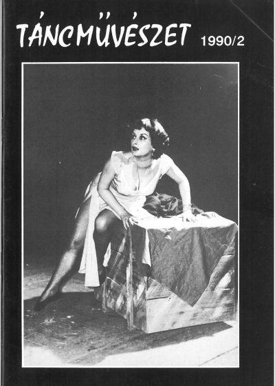 tancmuveszet-1990-2-címlap