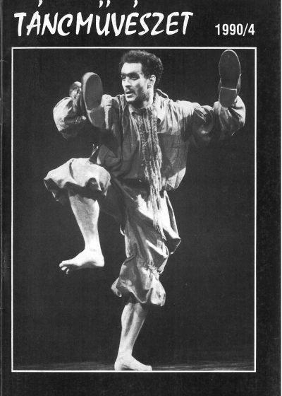 tancmuveszet-1990-4-címlap