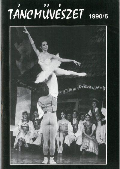 tancmuveszet-1990-5-címlap