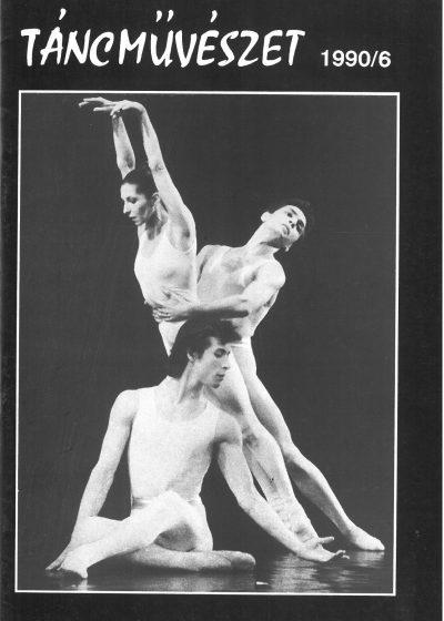 tancmuveszet-1990-6-címlap