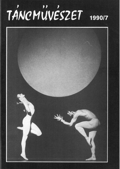 tancmuveszet-1990-7-címlap