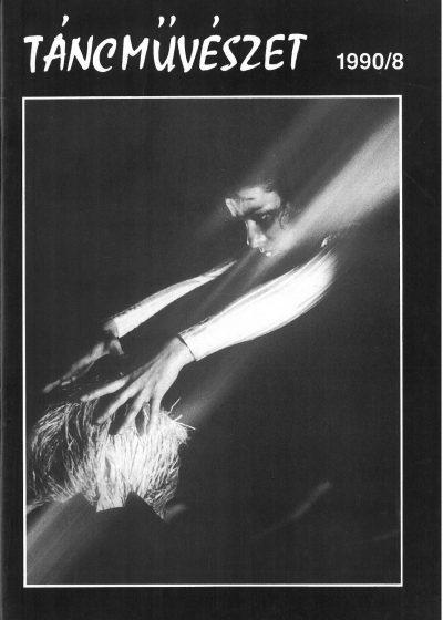 tancmuveszet-1990-8-címlap
