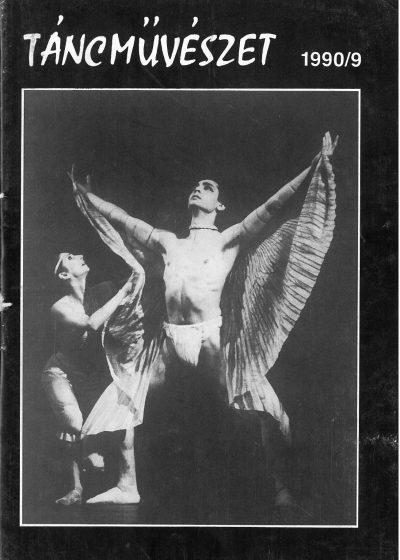 tancmuveszet-1990-9-címlap